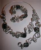 sieraden van eigengemaakte kralen okt. 2007 023